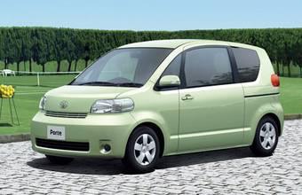 Toyota выпустила обновленную модель Toyota Porte.