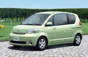 Toyota Porte прошла малую модернизацию