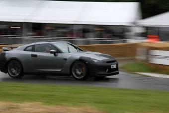 Nissan GT-R явился публике в эти выходные.