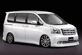 Toyota Noah скоро оденется в аксессуары от Fabulous.