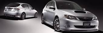 Subaru выпустила комплект аксессуаров и спортивных запчастей для Impreza 2007.