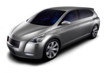 Концепт-кар Toyota FSC займет место Toyota Mark II Wagon Blit и Toyota Mark II Wagon Qualis.