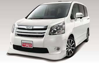 TRD занялась дизайном Toyota Noah и Toyota Voxy.