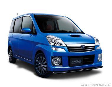 Subaru выпустила «спортивную» комплектацию Subaru Stella