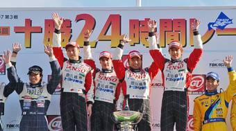 Toyota Supra HR-V на смешанной тяге выиграла соревнования на трассе в «Токати».