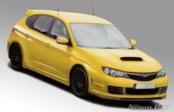 Subaru Impreza STI осенью появится в Японии.