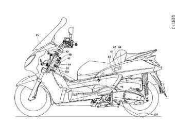 Сенсоры будут непрерывно оценивать положение мотоцикла на дороге, а система навигации не позволит ему смещаться с заданной траектории движения.