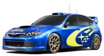 Премьера Subaru WRC состоится в следующем месяце.