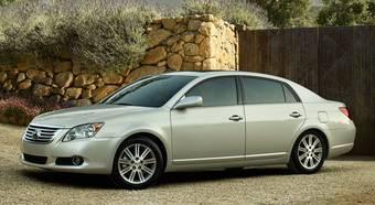 В августе в Северной Америке начинаются продажи обновленного Toyota Avalon.