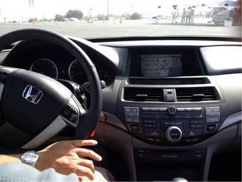 Интерьер Honda Accord 2008 модельного года.
