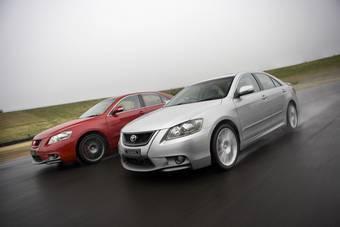 Toyota выводит на рынок Австралии суперчарджерную версию Toyota Aurion под знаменем Toyota Racing Development.