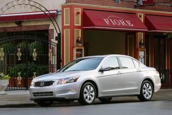 Honda Accord 2008 модельного года появится в автосалонах США в середине сентября.