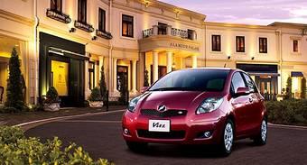 Toyota начала продажи в Японии модернизированного Toyota Vitz.