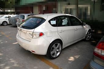 Экстерьер тестового образца Subaru Impreza STI мало чем отличается от Subaru Imprreza WRX.