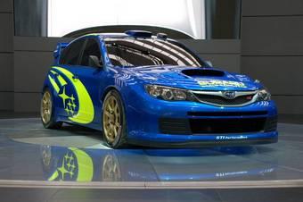Никаких технических данных о Subaru Impreza WRC не обнародовано.