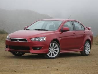 Американцы предпочитают топовую комплектацию GTS автомобиля Mitsubishi Lancer.