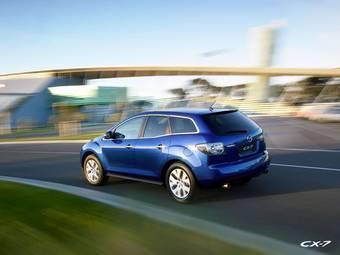 Дизельная версия Mazda CX-7 поступит на российский рынок в 2008 году.