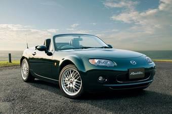 Компания Mazda начала в Японии продажи топовой комплектации кабриолета Mazda Roadster.