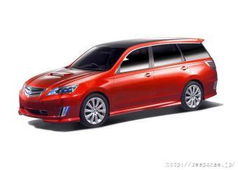 Subaru Exiga Concept будет представлен на Токийском автосалоне.