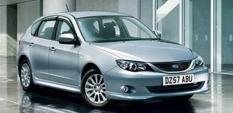 К автомобилю Subaru Impreza в Англии предлагается широкий выбор аксессуаров.