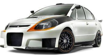 Новая вариация Suzuki SX4 будет продемонстрирована жителям США.