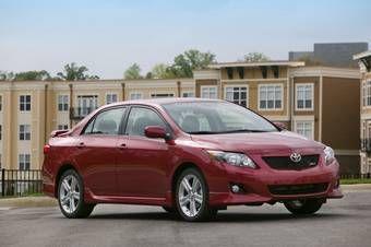 В США автомобиль поступит в продажу в феврале 2008 года как Toyota Corolla 2009 модельного года.