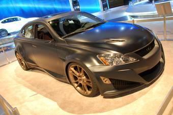 Lexus IS F от тюнинг-ателье FiveAxis.