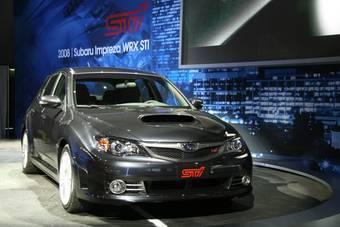 Subaru Impreza WRX STI нового поколения представили публике на автошоу в Лос-Анджелесе.