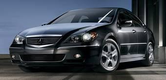 Acura RL будет обновлена следующим летом.