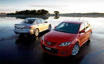 Автомобиль Mazda6 MPS первого поколения оборудуется 2,3-литровым двигателем с турбиной. Аналогичной силовой установкой обладает и Mazda3 MPS, но ее стоимость гораздо ниже.