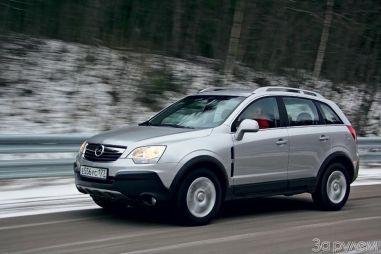 Сравнительный тест Honda CR-V, Nissan X-Trail и Opel Antara