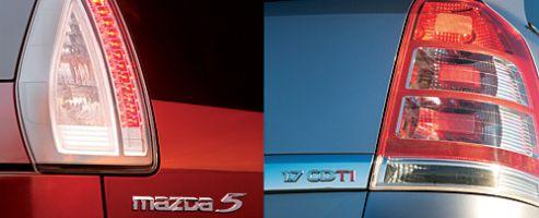 Обзор компактвэнов Opel Zafira и Mazda5
