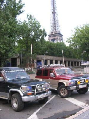 Владивосток-Украина-Германия-Франция на двух внедорожниках и микроавтобусе
