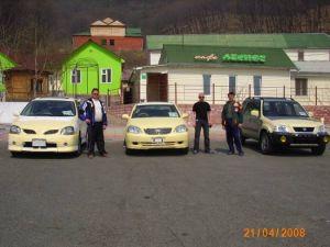 Второй перегон по маршруту Находка-Дятьково на трёх автомобилях