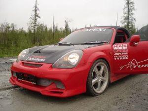 Перегон «пузотерки кабриолета» от TRD на Крайний Север