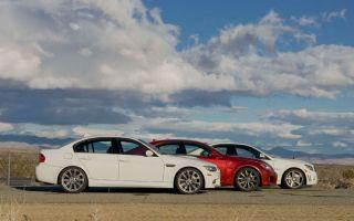 Сравнительный тест: BMW M3 против Lexus IS F и Mecedes-Benz C63 AMG