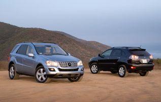 Дизель против гибрида: сравнение Mercedes-Benz ML320 Bluetec и Lexus RX 400h