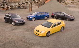 Время для турбо. Chevrolet Cobalt SS делает Impreza WRX, Lancer Ralliart и Mazdaspeed3. Возможно ли такое?