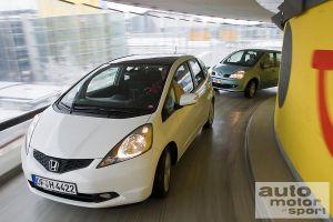 Сравнительный тест от придирчивых немцев: новый Honda Jazz против Renault Modus