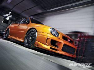 Тюнинг Impreza WRX. Subaru, которая едет