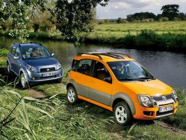 Тест-драйв: малыши Daihatsu Terios и Fiat Panda Cross в роли... внедорожников