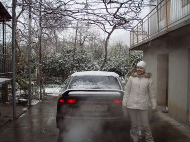 Новогодняя поездка в Абхазию на Subaru Legacy B4. Часть первая