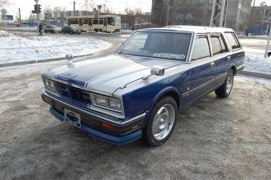 БайкалМоторШоу. Образ и подобие (Nissan Cedric, 1982)