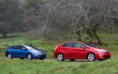 Сравнительный тест: Honda Insight 2010 против Toyota Prius 2010