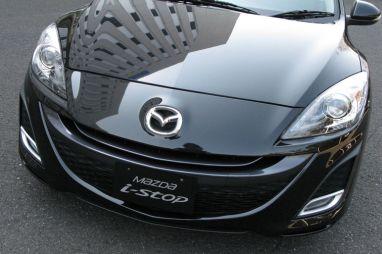 Обзор прототипа Mazda Axela с системой i-stop