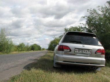 Новосибирск — Великий Устюг — Питер — Крым на Honda Orthia