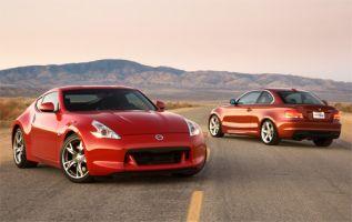 Сравнительный тест Nissan 370Z и BMW 135i. Посмевшие сразиться