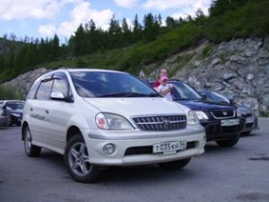 Путешествие на Горный Алтай в июне 2009 года на Honda CR-V и Toyota Nadia