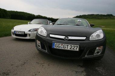 Какой спортивный родстер выбрать: Opel GT (264 л.с.) или Honda S2000 (240 л.с.)?