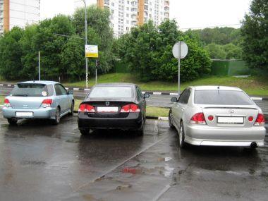 Путешествие из Москвы в Ялту и обратно на Civic, Altezza и Impreza Wagon